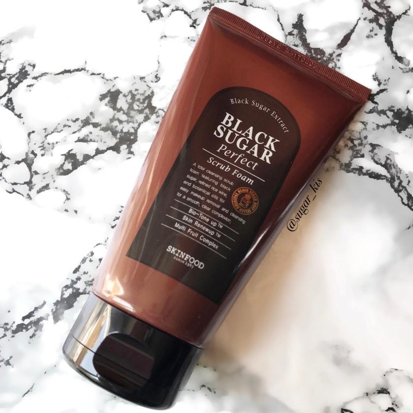 Black Sugar Perfect Scrub Foam by Skinfood #8